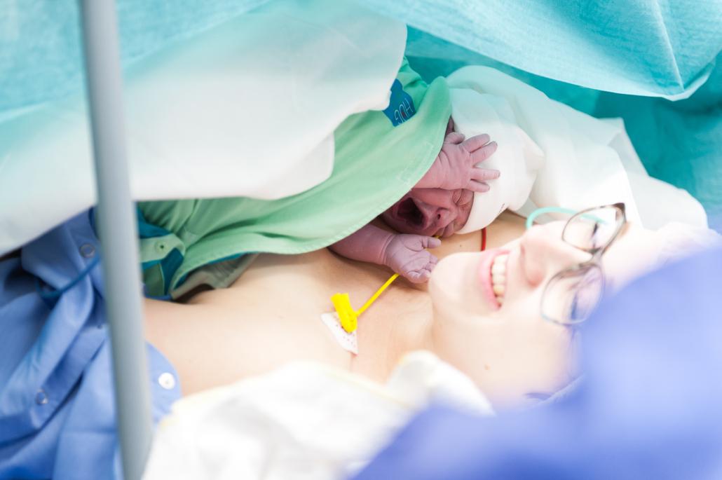 baby veilig bij moeder