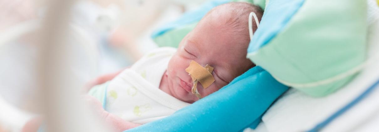 te vroeg geboren baby prematuur kindje